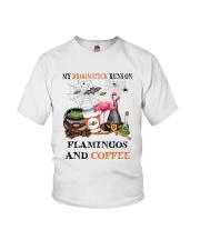 Flamingos Runs On Youth T-Shirt thumbnail