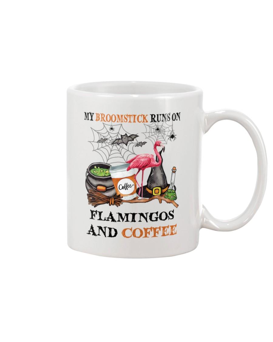 Flamingos Runs On Mug