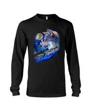 Alpha Wolf and Moon Long Sleeve Tee thumbnail