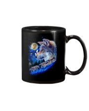 Alpha Wolf and Moon Mug thumbnail
