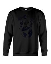 Owl Earth Crewneck Sweatshirt thumbnail