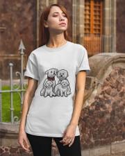 Bichon Frise Camp Mau White Classic T-Shirt apparel-classic-tshirt-lifestyle-06