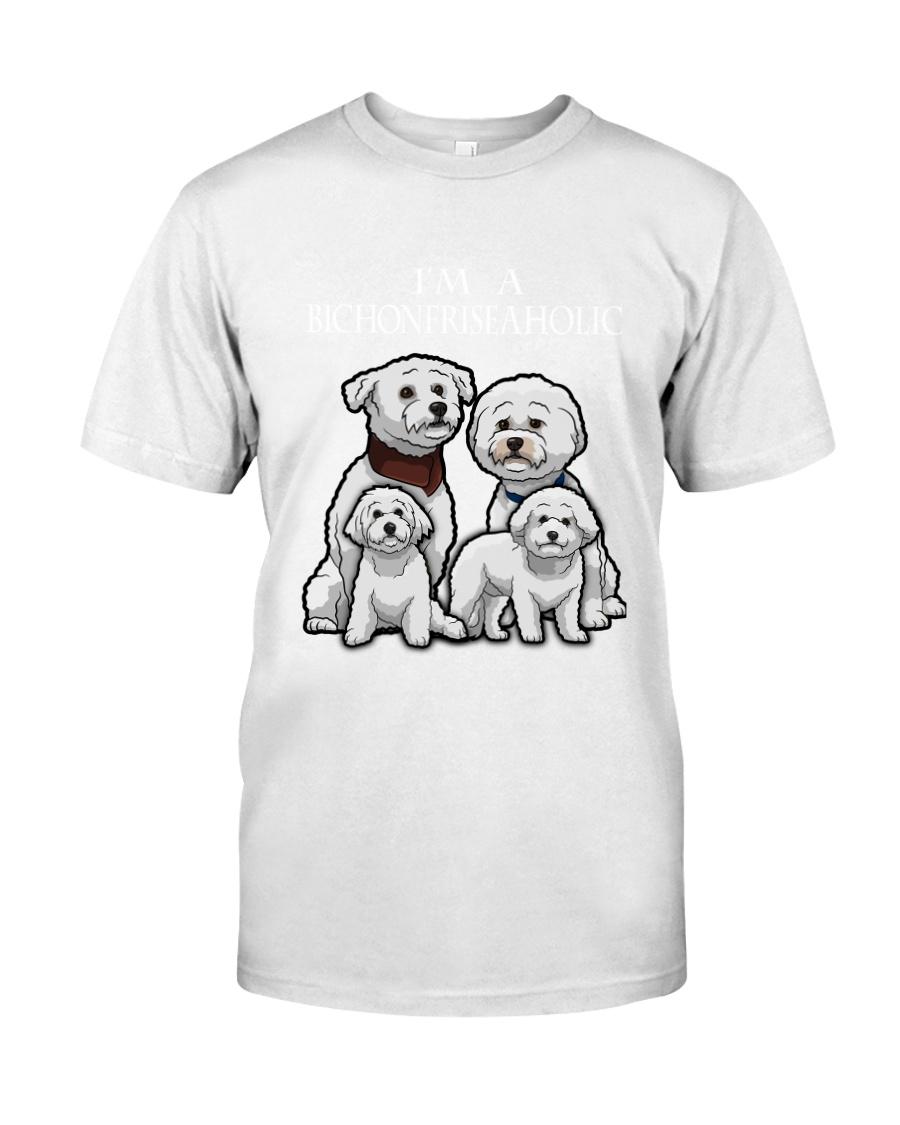 Bichon Frise Camp Mau White Classic T-Shirt