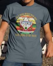 Alaskan Malamute  On High Way Classic T-Shirt apparel-classic-tshirt-lifestyle-28