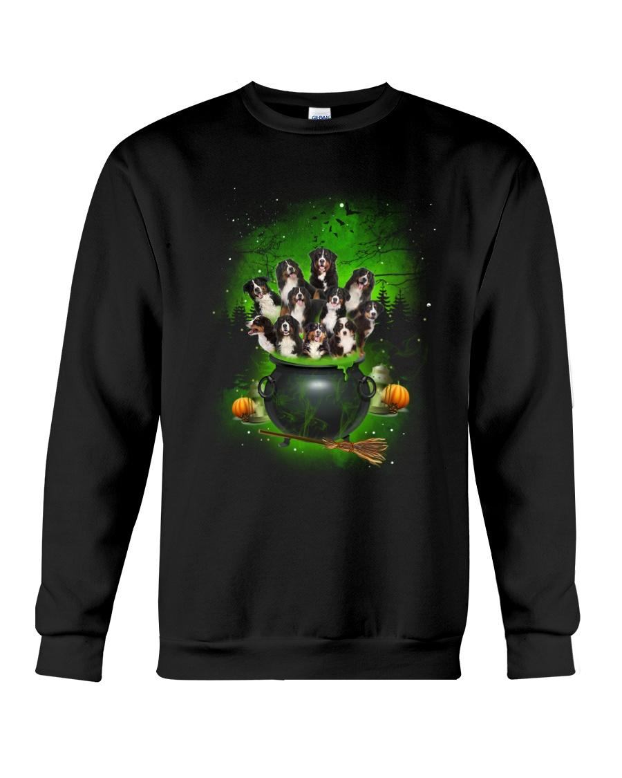Bernese Mountain Dog Pot Crewneck Sweatshirt