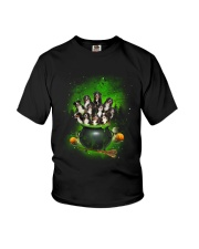Bernese Mountain Dog Pot Youth T-Shirt thumbnail