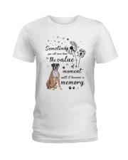 Boxer Memory Ladies T-Shirt thumbnail