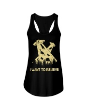 Dinosaurs Believe Ladies Flowy Tank tile