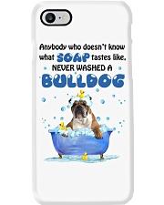 Bulldog and Soap Phone Case thumbnail