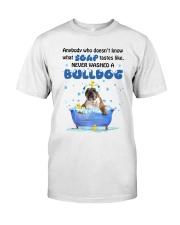 Bulldog and Soap Classic T-Shirt thumbnail