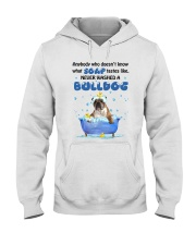 Bulldog and Soap Hooded Sweatshirt thumbnail
