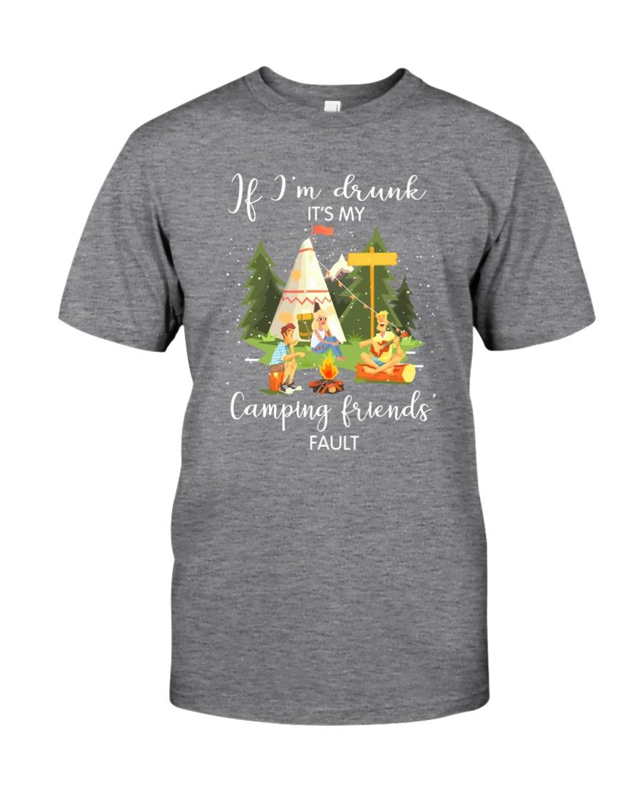 Camping Drunk Classic T-Shirt