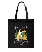 Camping Drunk Tote Bag thumbnail