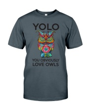 Owl Yolo Classic T-Shirt thumbnail