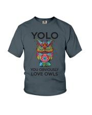 Owl Yolo Youth T-Shirt thumbnail
