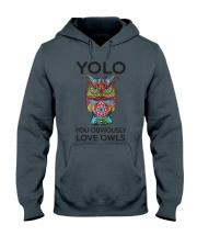 Owl Yolo Hooded Sweatshirt thumbnail