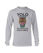 Owl Yolo Long Sleeve Tee thumbnail