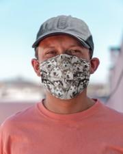 Alaskan Malamute Awesome H25854 Cloth face mask aos-face-mask-lifestyle-06