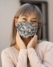 Alaskan Malamute Awesome H25854 Cloth face mask aos-face-mask-lifestyle-17