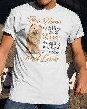 House Filled With Chow Chow Classic T-Shirt apparel-classic-tshirt-lifestyle-28