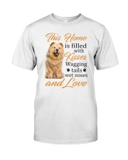 House Filled With Chow Chow Classic T-Shirt front