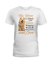 House Filled With Chow Chow Ladies T-Shirt thumbnail