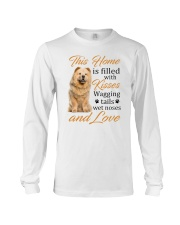 House Filled With Chow Chow Long Sleeve Tee thumbnail