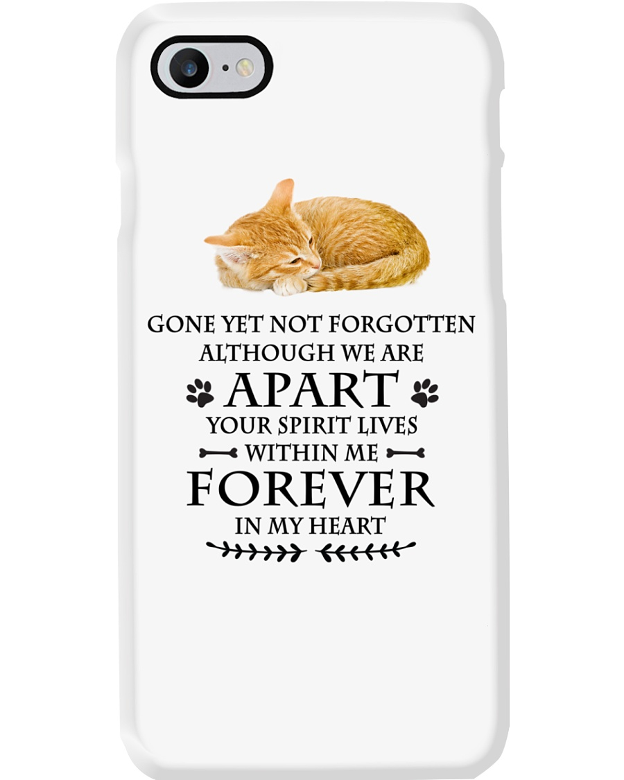Cat Forever In My Heart Phone Case