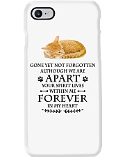 Cat Forever In My Heart Phone Case i-phone-7-case