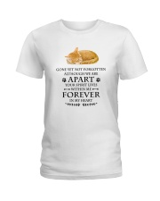 Cat Forever In My Heart Ladies T-Shirt thumbnail