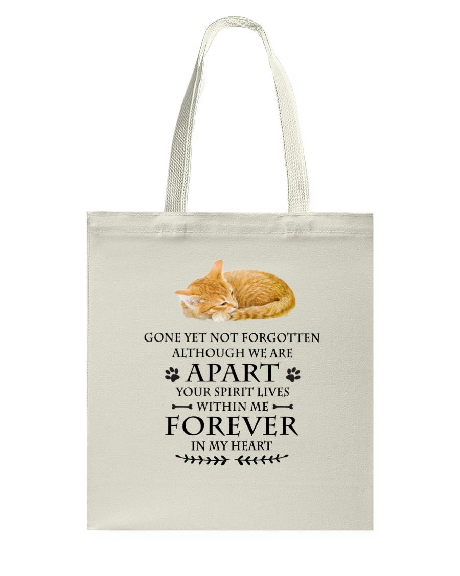 Cat Forever In My Heart Tote Bag