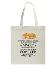 Cat Forever In My Heart Tote Bag thumbnail