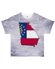Georgia State Flag T5TO All-over T-Shirt front
