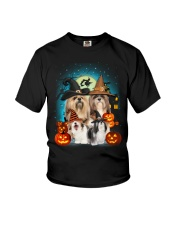 Lhasa Apso Halloween Youth T-Shirt thumbnail