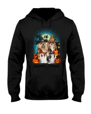 Lhasa Apso Halloween Hooded Sweatshirt tile