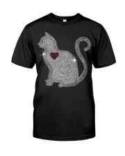 Cat Love Bling New Classic T-Shirt front