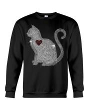 Cat Love Bling New Crewneck Sweatshirt thumbnail