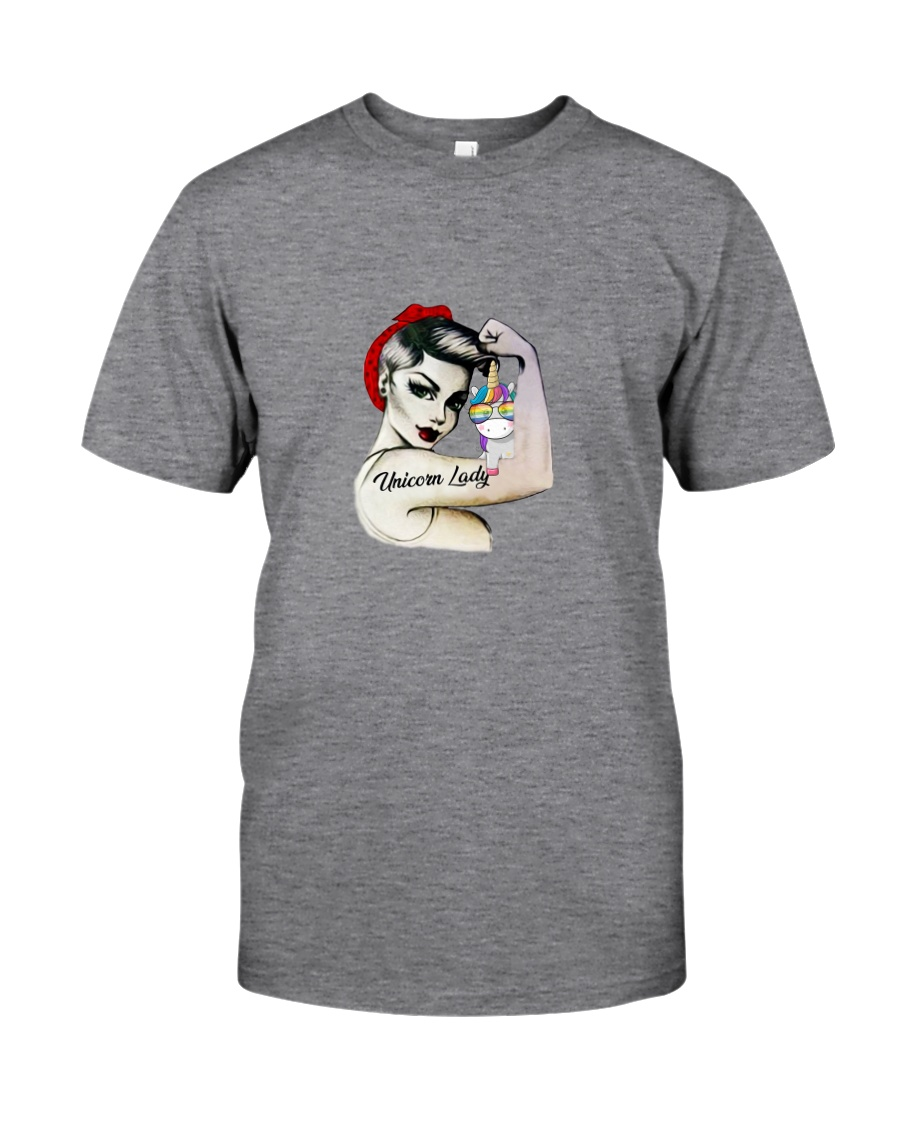 Unicorn Lady Classic T-Shirt