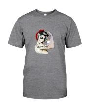 Unicorn Lady Classic T-Shirt front