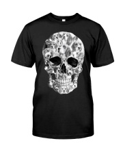 Beagle Skull Classic T-Shirt front