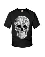 Beagle Skull Youth T-Shirt thumbnail