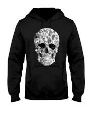 Beagle Skull Hooded Sweatshirt thumbnail