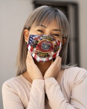 Awesome Firefighter G82764 Cloth face mask aos-face-mask-lifestyle-17