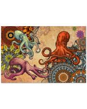 """Amazing Octopus H13838 Doormat 22.5"""" x 15""""  front"""
