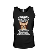 Chihuahua Don't mess with me Unisex Tank thumbnail