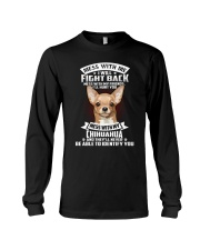 Chihuahua Don't mess with me Long Sleeve Tee thumbnail