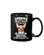 Chihuahua Don't mess with me Mug thumbnail