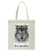 Wolf Costume  Tote Bag thumbnail
