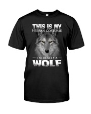 Wolf Costume  Classic T-Shirt thumbnail