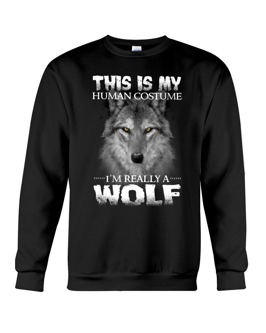 Wolf Costume  Crewneck Sweatshirt